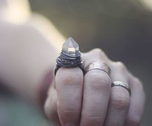 ring, fashion, and nails image