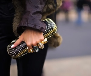 fashion, rings, and Alexander McQueen image