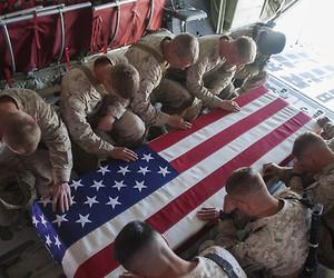Brotherhood, farewell, and flag image