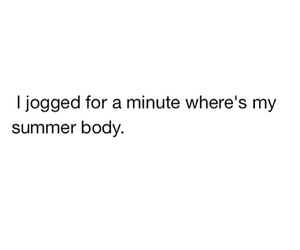 summer, body, and jog image