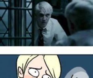 harry potter, draco malfoy, and disney image