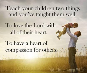 children, compassion, and god image