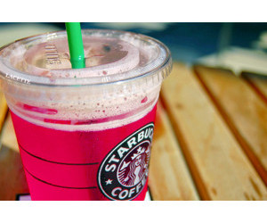 pink, starbucks, and summer image