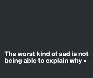 quotes, sad, and explain image