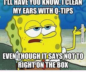 funny, girl, and spongebob image