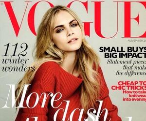 cara delevingne, model, and vogue image