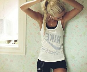 beauty, clothes, and sporty image