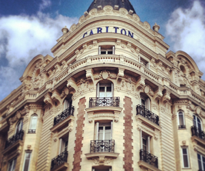 cannes, carlton, and hotel image