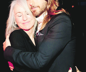 jared leto and constance leto image