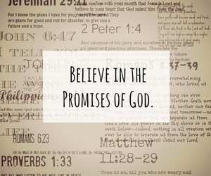 bible, god, and promises image
