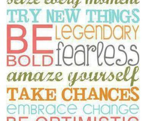 quote, fearless, and optimistic image