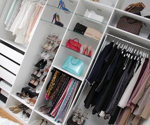 fashion, clothes, and closet image