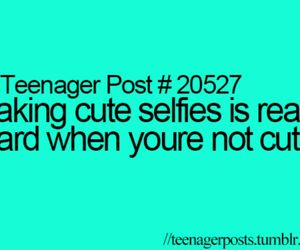 teenager post and selfies image