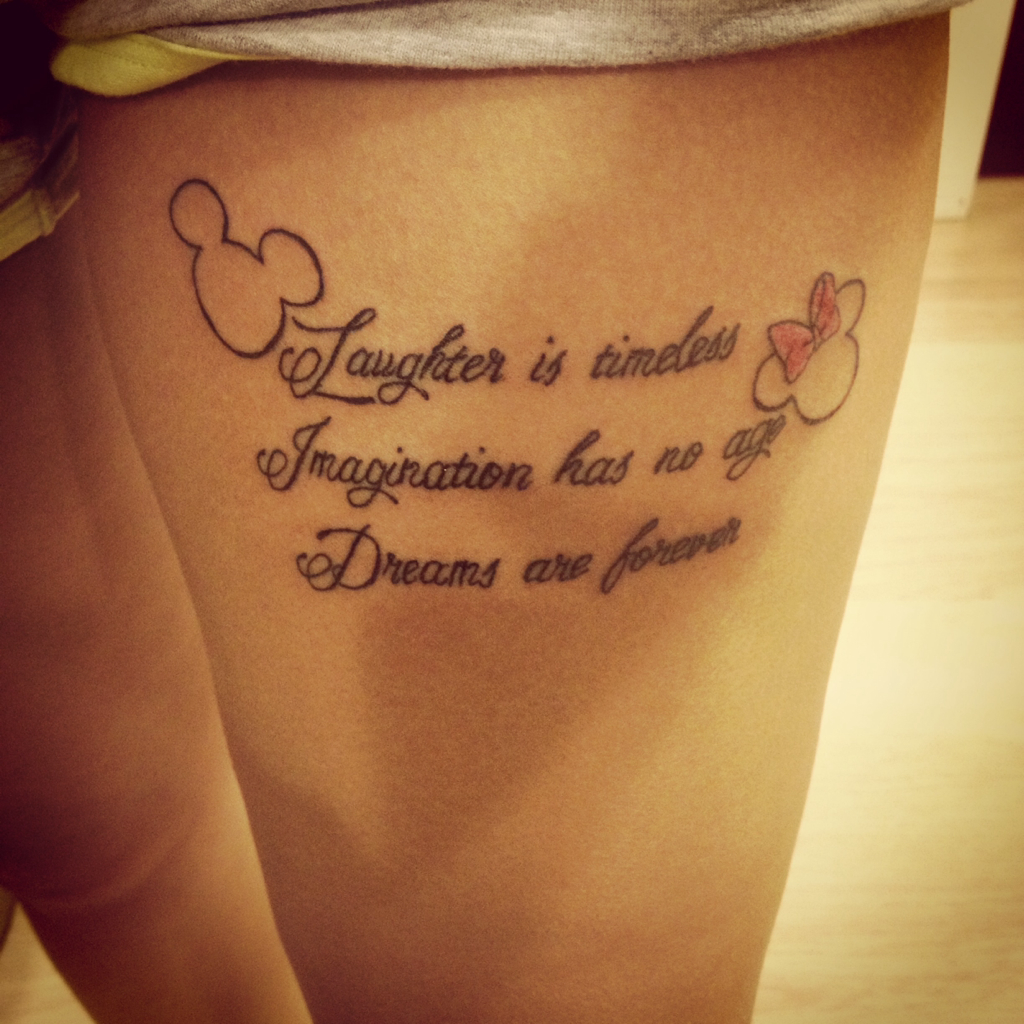images of disney movie quotes tattoos info