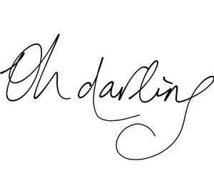 darling, quotes, and text image