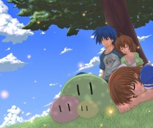 anime, clannad after story, and girl image