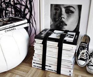 fashion, converse, and chanel image
