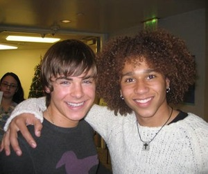 high school musical, zac efron, and corbin bleu image