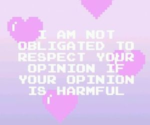 opinion, quote, and heart image