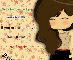 self harm, deppresion, and stop self harm image