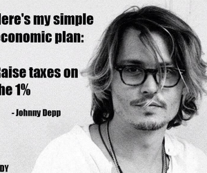johnny depp, simple, and tax the rich image