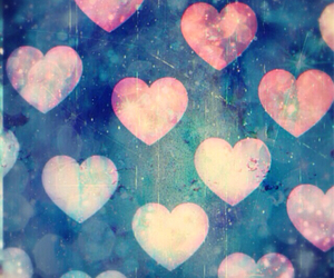 colorful, hearts, and wallpapers image