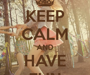 fun, keep calm, and friends image