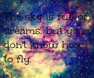 fly, Dream, and sky image