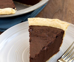 chocolate, food, and pie image