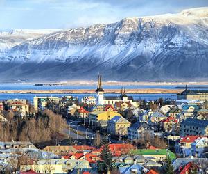 reykjavik and iceland image