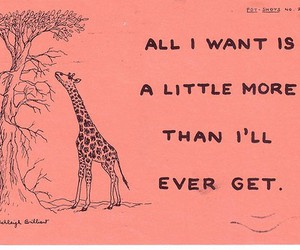 giraffe, text, and quote image