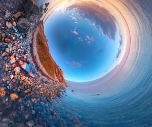 water, ocean, and waves image