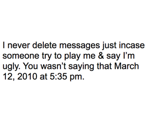 delete, me, and messages image