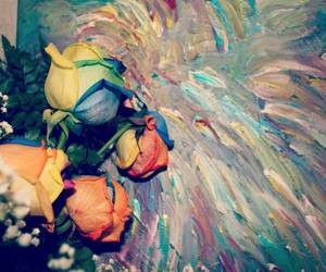 colourful, dreams, and flowers image