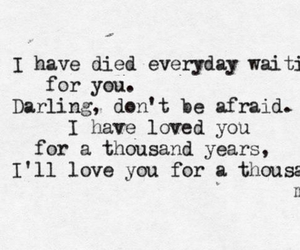 Lyrics, a thousand years, and christina perri image