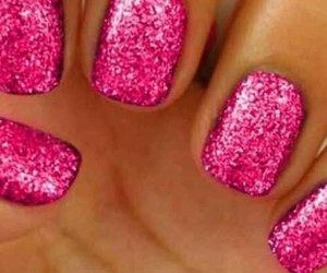 nails, sparkly, and perfection image