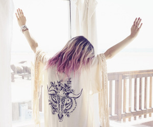 hair, boho, and hipster image