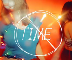 Lyrics, party, and time image