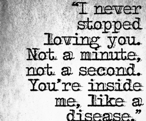 disease, quote, and love image