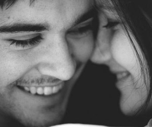 love, couple, and smile image