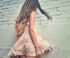 outfit, dress, and girl image
