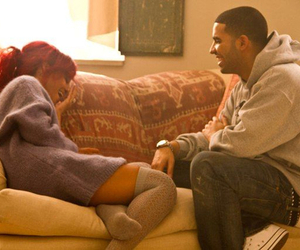 rihanna and Drake image