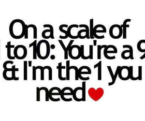 love, quotes, and scale image