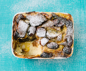plum and bread pudding image
