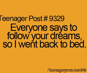 Dream, bed, and funny image