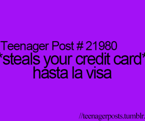 card, credit, and funny image