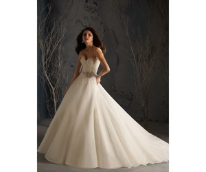bridal gown, bride, and princess image