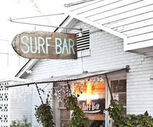 surf, summer, and bar image