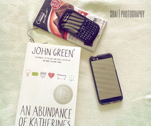 blackberry, john green, and iphone5s image