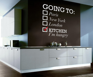 kitchen, hungry, and paris image
